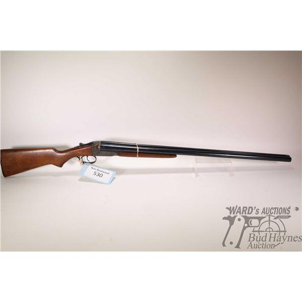 """Non-Restricted shotgun Stevens model 311, 12Ga 2 3/4"""" two shot hinge break, w/ bbl length 30"""" [Blued"""