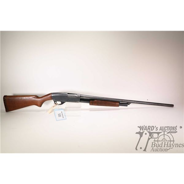 "Non-Restricted shotgun Stevens model 77C, 12Ga 2 3/4"" pump action, w/ bbl length 28"" [Blued barrel a"