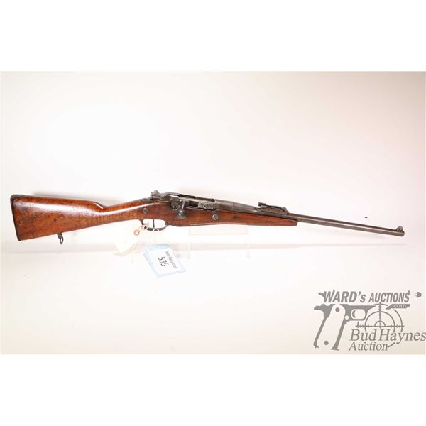 """Non-Restricted rifle Le Etienne model 1907-15, 8X50mm (7.5X54 French) bolt action, w/ bbl length 18"""""""