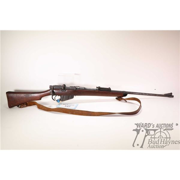 Non-Restricted rifle Enfield model B.S.A. 1918 Sht LE III *, .303 Brit. bolt action, w/ bbl length 2