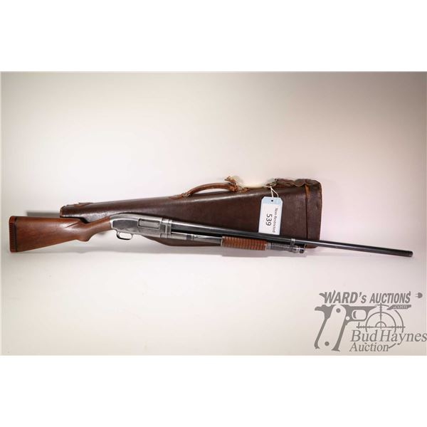 """Non-Restricted shotgun Winchester model 1912, 12Ga pump action, w/ bbl length 32"""" [Blued fixed full"""