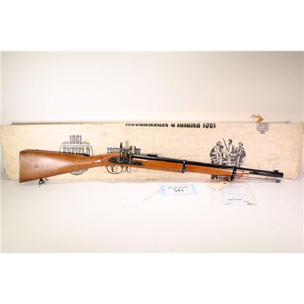 Non-Restricted rifle Parker-Hale model Enfield Percussion1861, .577 cal single shot muzzle loading,