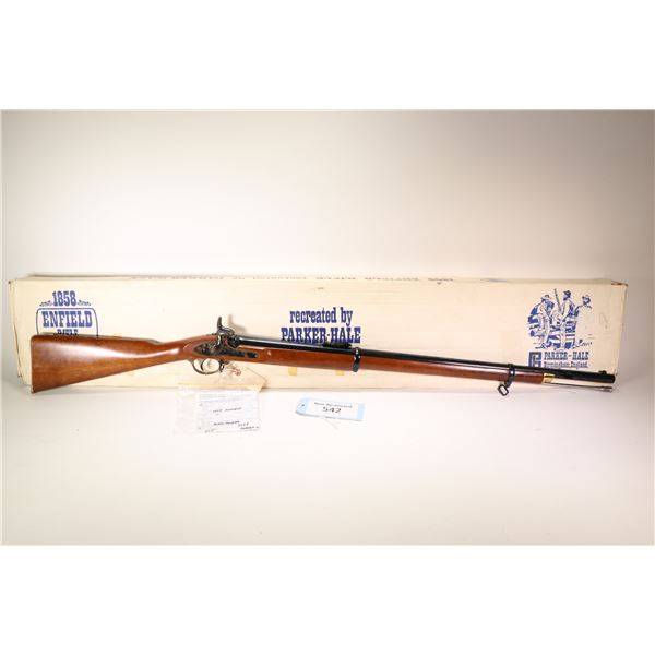 Non-Restricted rifle Parker-Hale model Enfield Percussion1858, .577 cal single shot muzzle loading,