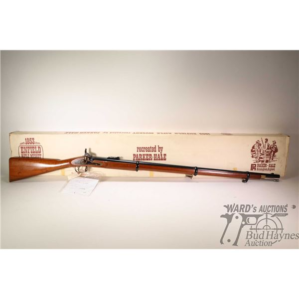 Non-Restricted rifle Parker-Hale model Enfield  Percussion 1853, .577 cal single shot muzzle loading