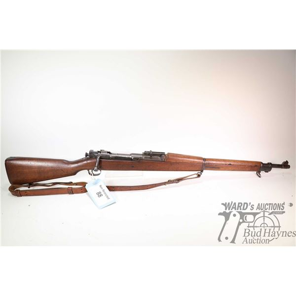 "Non-Restricted rifle Remington model 1903, 30-06 bolt action, w/ bbl length 24"" [Blued barrel and re"