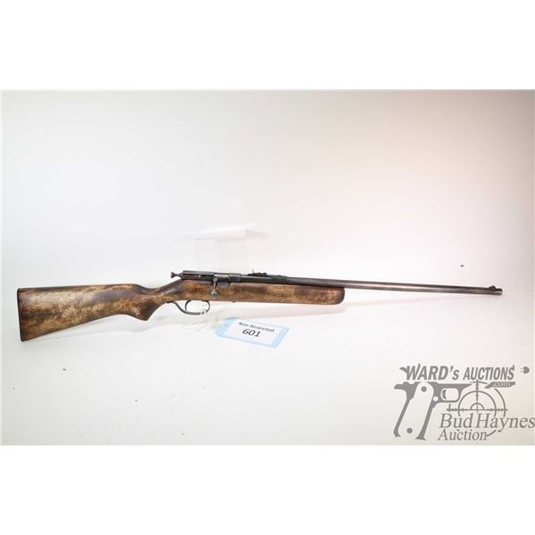 "Non-Restricted rifle Cooey model 39, 22 S-L-LR single shot bolt action, w/ bbl length 22"" [Blued bar"