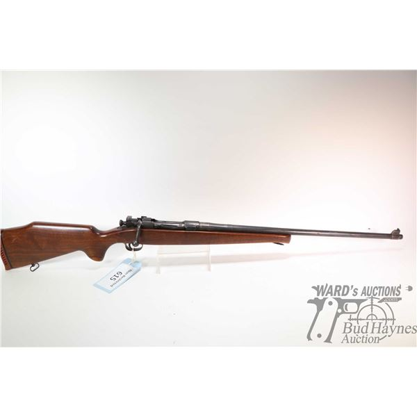 """Non-Restricted rifle Springfield model 1903, 30-06 SPRG five shot bolt action, w/ bbl length 24"""" [Bl"""