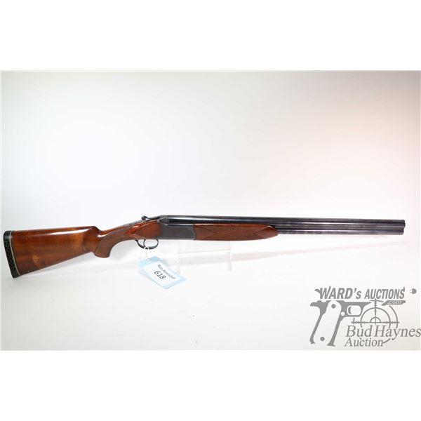"Non-Restricted shotgun Savage model 440A, 12Ga 2 3/4"" two shot hinge break, w/ bbl length 26"" [Blued"
