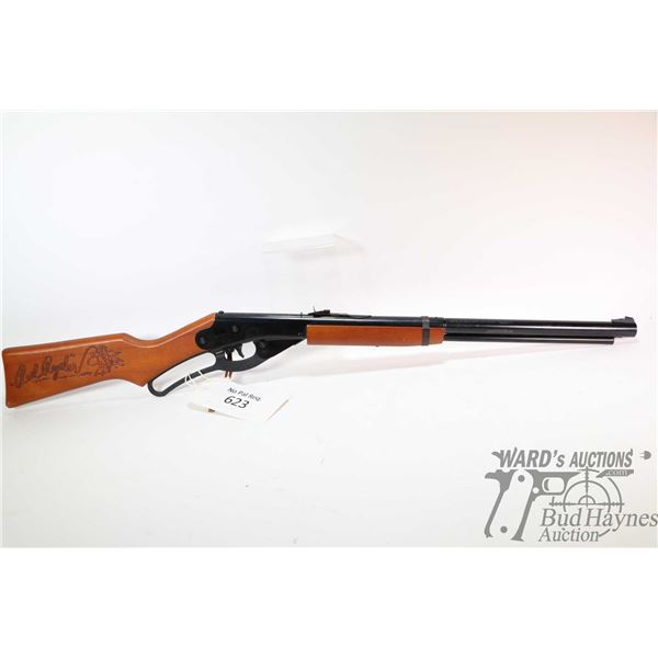 No Pal Req. air rifle Daisy model 1938B, .177 lever action, [Classic Red Ryder BB rifle with only mi