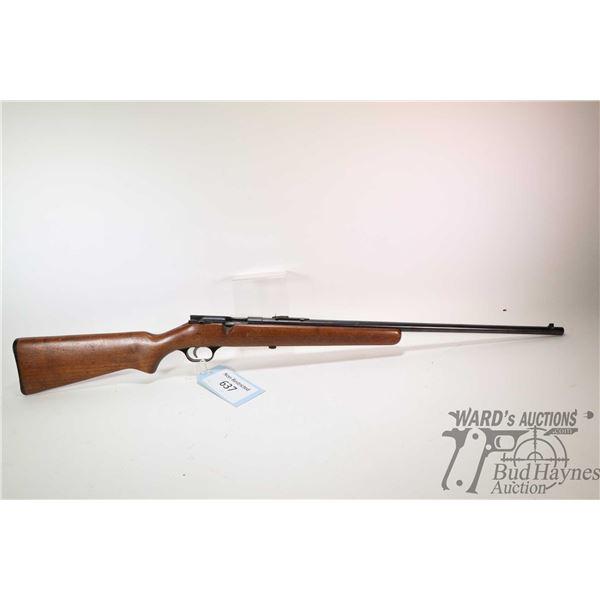"Non-Restricted rifle Savage model 3D, 22 S-L-LR single shot bolt action, w/ bbl length 24"" [Blued ba"