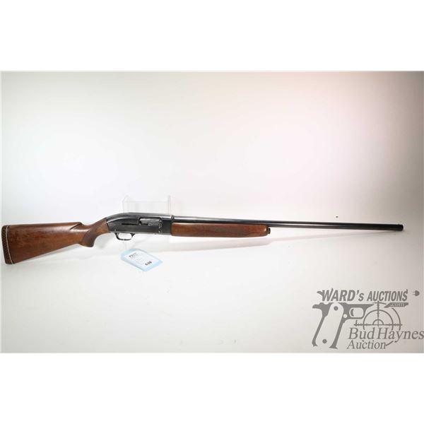 "Non-Restricted shotgun Winchester model 50, 12Ga 2 3/4"" semi automatic, w/ bbl length 30"" [Blued bar"