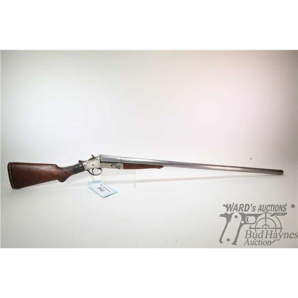 """Non-Restricted shotgun Expert model Single Shot, 16Ga single shot hinge break, w/ bbl length 30"""" [Or"""