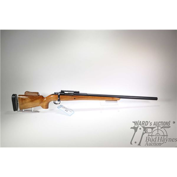 Non-Restricted rifle Carl Gustafs model CG63 Custom, 6.5X55 Ackley Improved bolt action, w/ bbl leng