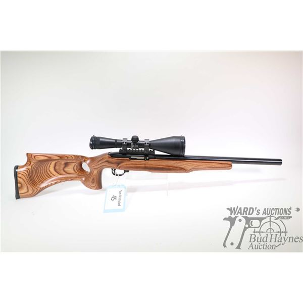 "Non-Restricted rifle Ruger model 10/22 Custom, 22LR ten shot semi automatic, w/ bbl length 18"" [Blac"