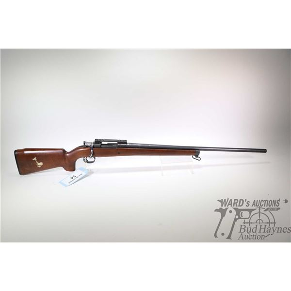 """Non-Restricted rifle Carl Gustafs model 63 Target, 6.5X47 bolt action, w/ bbl length 27 1/2"""" [Custom"""