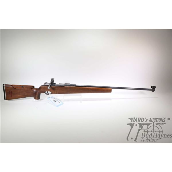 """Non-Restricted rifle Carl Gustafs model 80 Target, 6.5X55 bolt action, w/ bbl length 29 1/2"""" [Custom"""