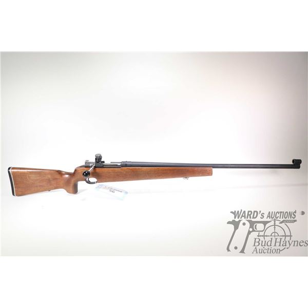 """Non-Restricted rifle Carl Gustafs model 80 Target, 6.5X55 bolt action, w/ bbl length 29 1/2"""" [Parker"""