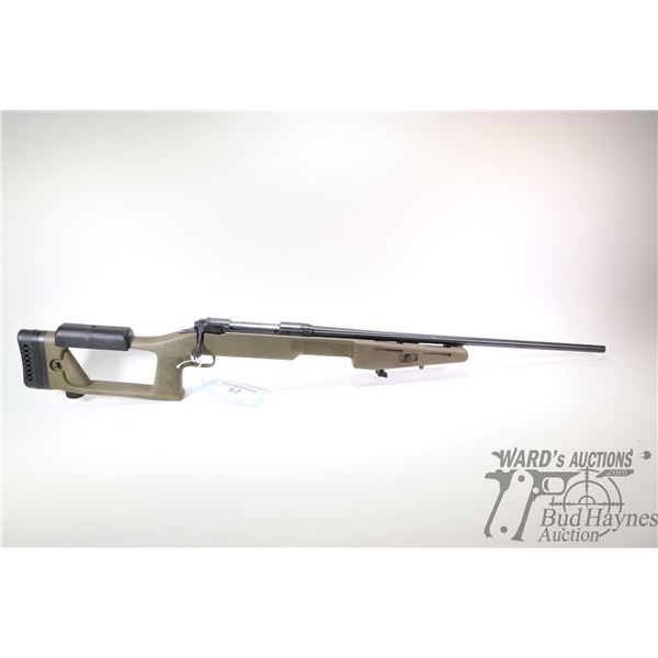 """Non-Restricted rifle Savage model 110 Custom, 300 Rem Ultra Mag bolt action, w/ bbl length 26"""" [Blue"""