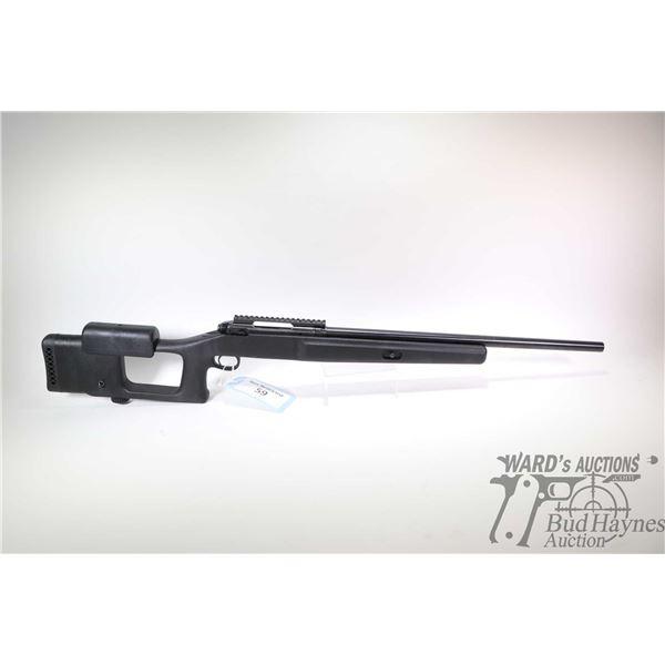 Non-Restricted rifle Savage model 110 Left Handed custom, 204 Ruger Single Shot bolt action, w/ bbl