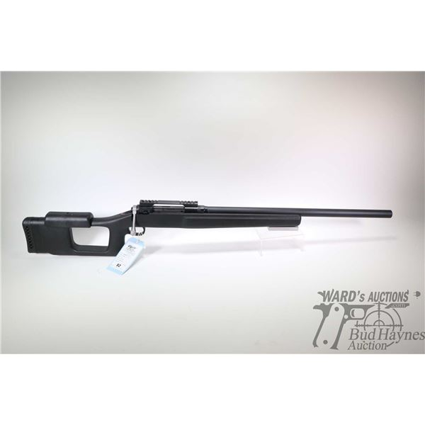"""Non-Restricted rifle Savage model 110 Custom, 219 Wasp Single Shot bolt action, w/ bbl length 26"""" [H"""