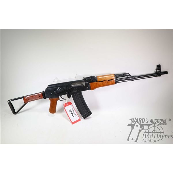 "Prohib 12-5 rifle Norinco model 84S-2, 5.56mm five Shot semi automatic, w/ bbl length 18 1/2"" [Black"