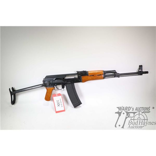 "Prohib 12-5 rifle Norinco model 84S-1, 5.56mm five shot semi automatic, w/ bbl length 18 1/2"" [Black"