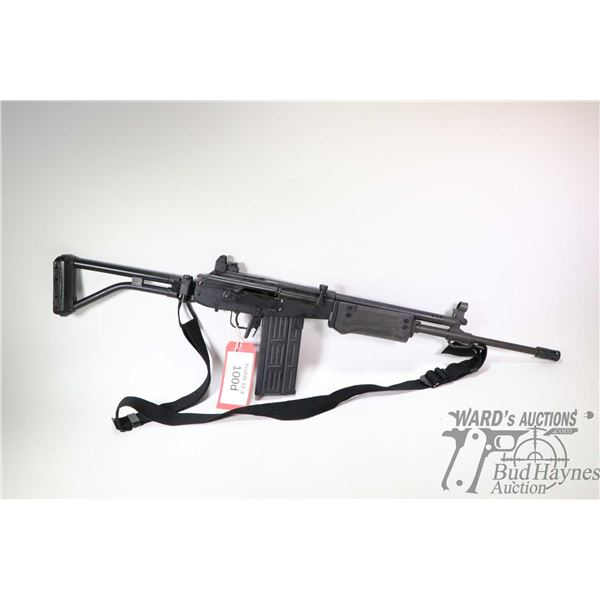 "Prohib 12-5 rifle IMI model Galil model 329S, .308 Win five shot semi automatic, w/ bbl length 18"" ["