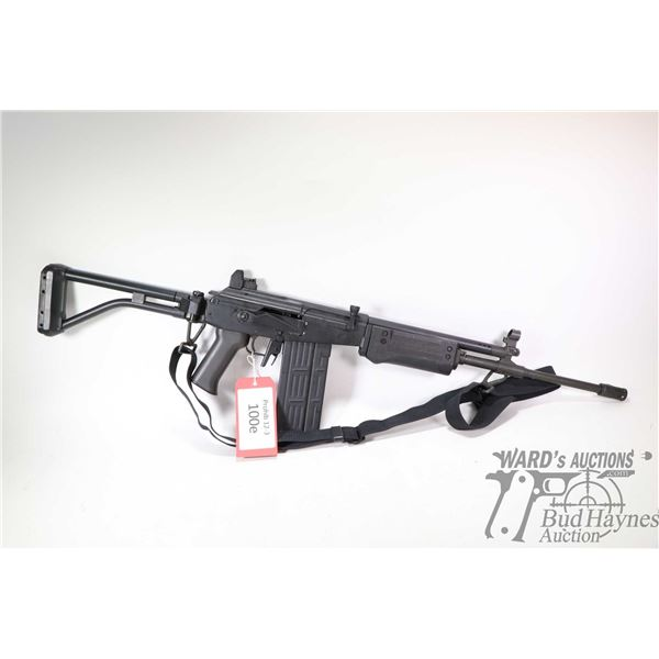 "Prohib 12-5 rifle IMI model Galil model 329S, 308 Win five shot semi automatic, w/ bbl length 18"" [B"