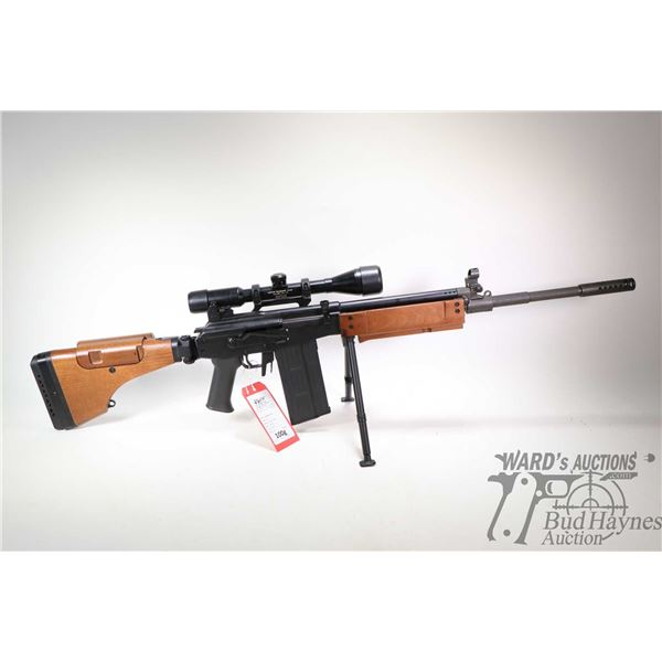 "Prohib 12-5 rifle IMI model SN.R Galil ""Galatz"", 7.62x51 five shot semi automatic, w/ bbl length 19"""