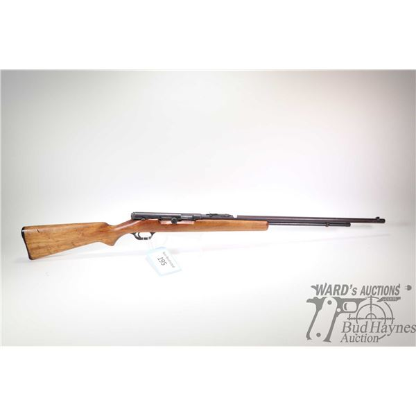 Non-Restricted rifle Springfield model 87A, 22 S-L-LR bolt action/semi automatic, w/ bbl length 24""