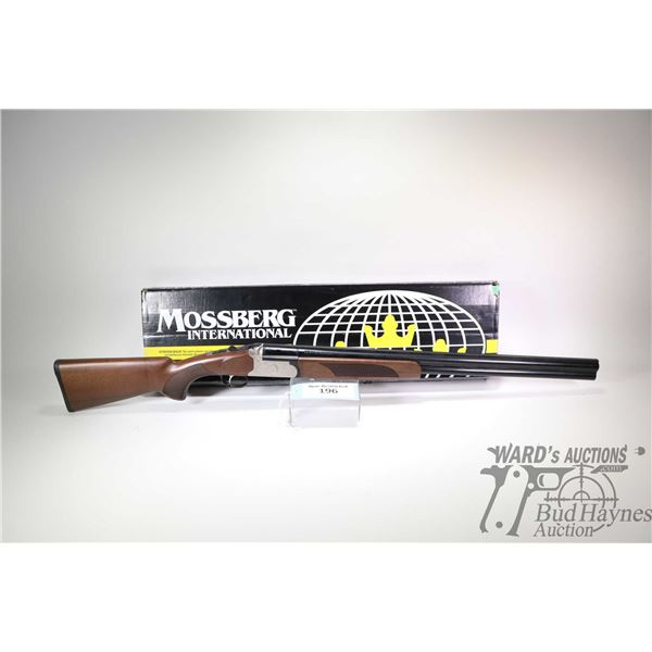 "Non-Restricted shotgun Mossberg model Silver Reserve II, 12Ga 2 3/4"" & 3"" two shot hinge break, w/ b"