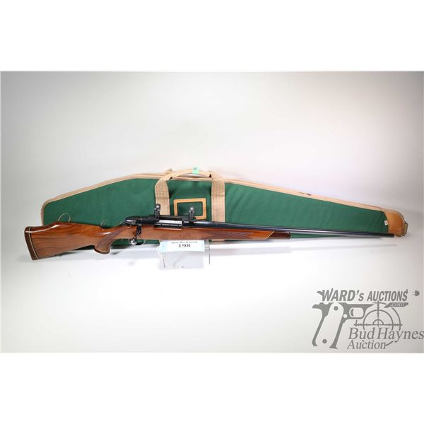 "Non-Restricted rifle Weatherby model Mark V, .270 Win bolt action, w/ bbl length 26 1/2"" [Glossed bl"