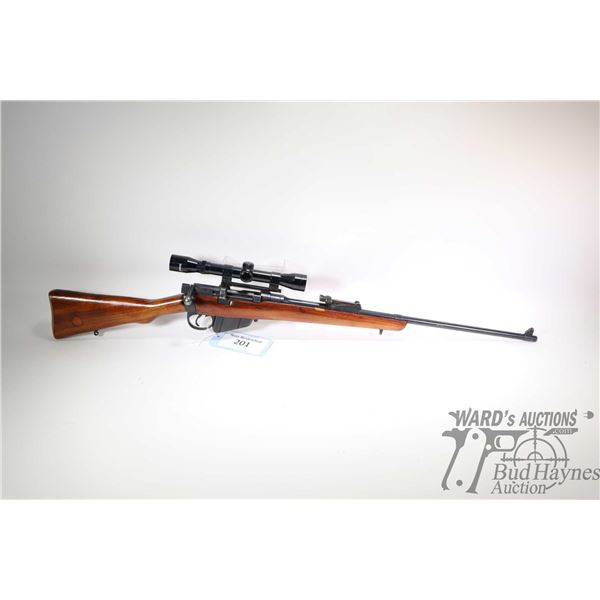 "Non-Restricted rifle Enfield model SHT LE III*, .303 Brit ten shot bolt action, w/ bbl length 25"" [B"