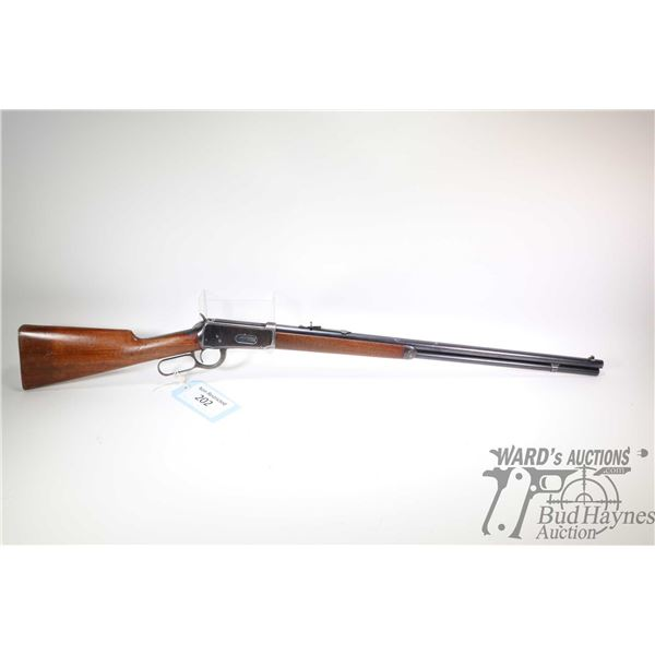 "Non-Restricted rifle Winchester model 1894, 30 W.C.F lever action, w/ bbl length 26"" [Blued round ba"