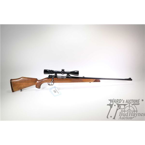 """Non-Restricted rifle CIL model 972-C, 243W bolt action, w/ bbl length 24"""" [Blued barrel and receiver"""