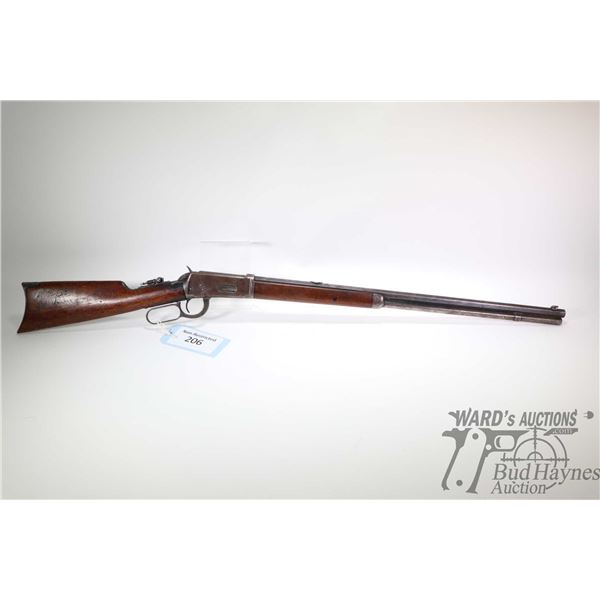"""Non-Restricted rifle Winchester model 1894, .30 W.C.F lever action, w/ bbl length 26"""" [Blued octagon"""