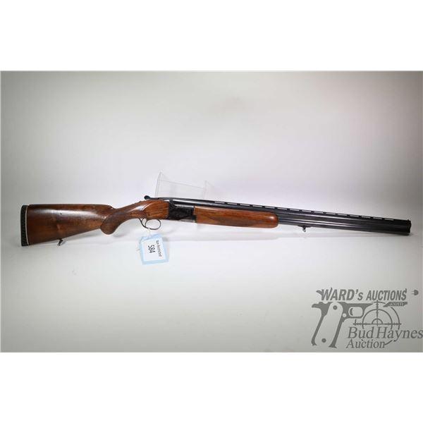 "Non-Restricted shotgun Miroku model Over Under, 12Ga 2 3/4"" two shot hinge break, w/ bbl length 28"""