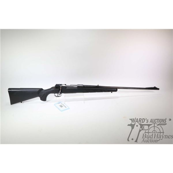 """Non-Restricted rifle Husqvarna 30-06 bolt action, w/ bbl length 24"""" [Blued barrel and receiver turni"""