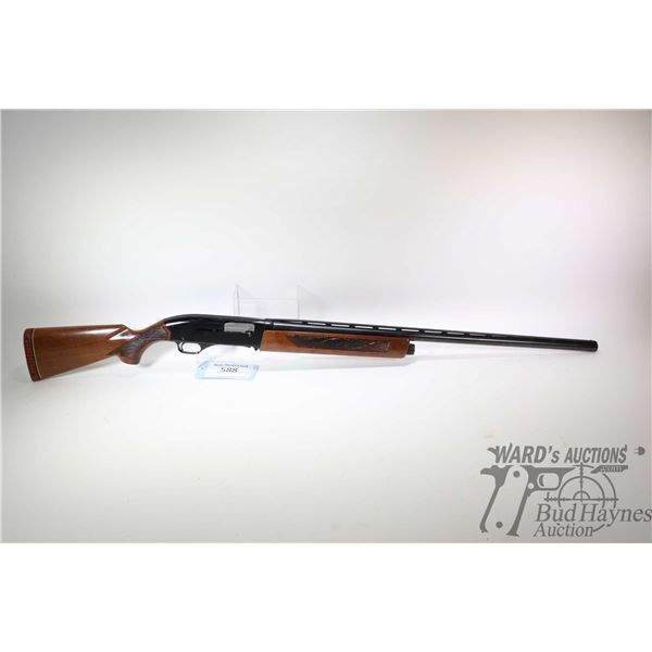 "Non-Restricted shotgun Winchester model 1400 MK II, 12Ga 2 3/4"" semi automatic, w/ bbl length 30"" [B"