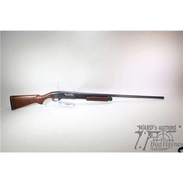 "Non-Restricted shotgun Remington model Wingmaster 870, 12Ga 2 3/4"" pump action, w/ bbl length 30"" [B"