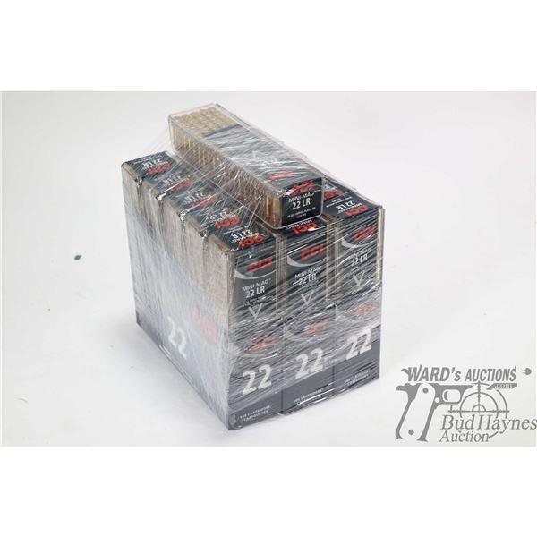 1600 rounds of CCI Mini-Mag ammunition
