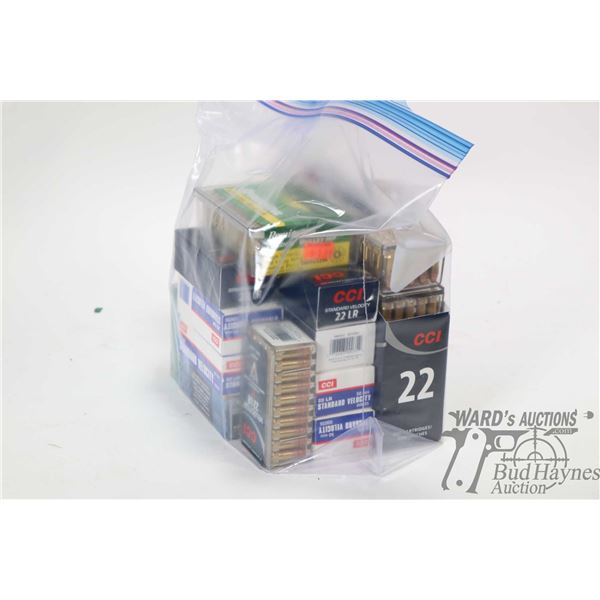 Approximately 1200 rounds of .22 LR including 500 CCI Mini- Mags, 600 rounds of CCI Standard Velocit