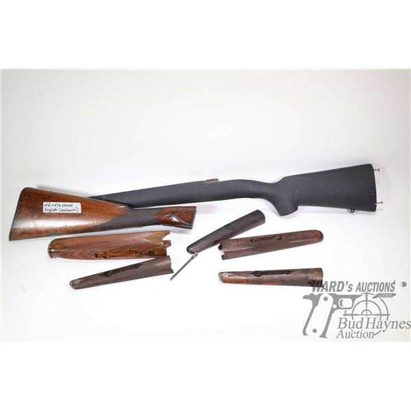 Selection of stock and forends with no confirmed fitment
