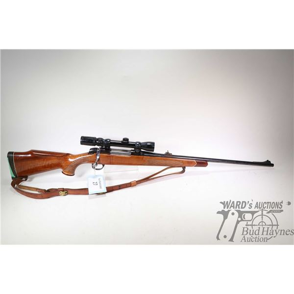 "Non-Restricted rifle BSA 270 Win bolt action, w/ bbl length 24"" [Blued barrel and receiver. Fixed fr"