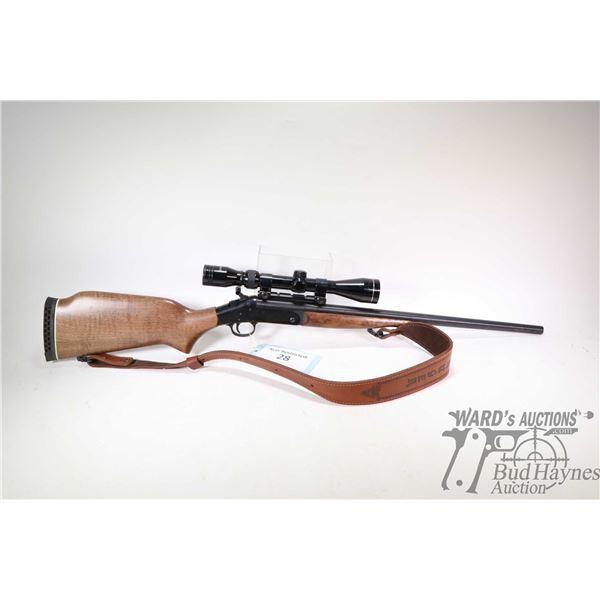 Non-Restricted rifle New England model Pardner Handy Rifle, .223 Rem single shot hinge break, w/ bbl