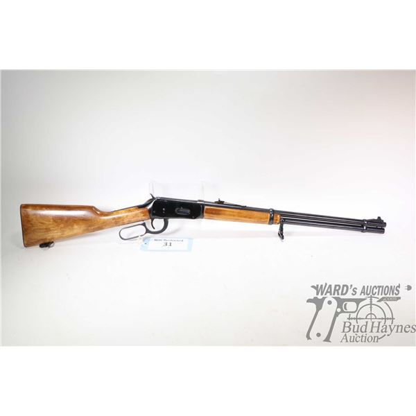 "Non-Restricted rifle Winchester model 94, .32 Win SPL lever action, w/ bbl length 20"" [Blued barrel,"