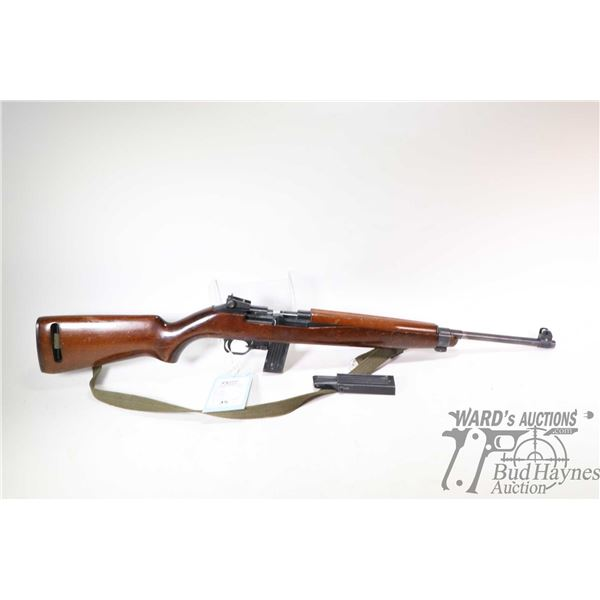 Non-Restricted rifle Erma model Em122, .22 LR semi automatic, w/ bbl length 17 1/2  [Blued barrel an