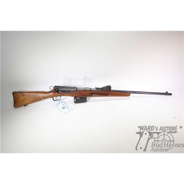 "Non-Restricted rifle Schmidt Rubin model 1889, 7.5X55 bolt action, w/ bbl length 23"" [Blued barrel a"