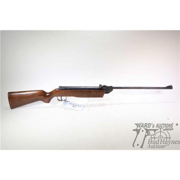 Non-Restricted air rifle NAC model Pellet Rifle, .22 cal (fps unknown) single shot hinge break, w/ b
