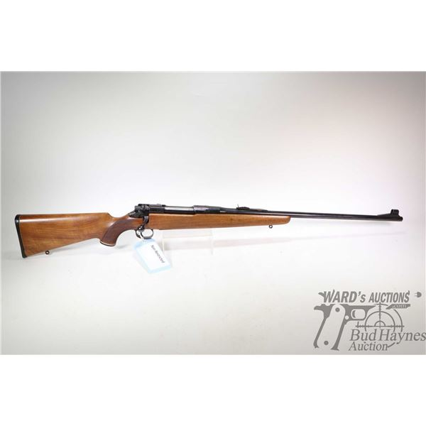 "Non-Restricted rifle BSA model P17, .30-06 cal bolt action, w/ bbl length 24"" [Blued barrel and rece"